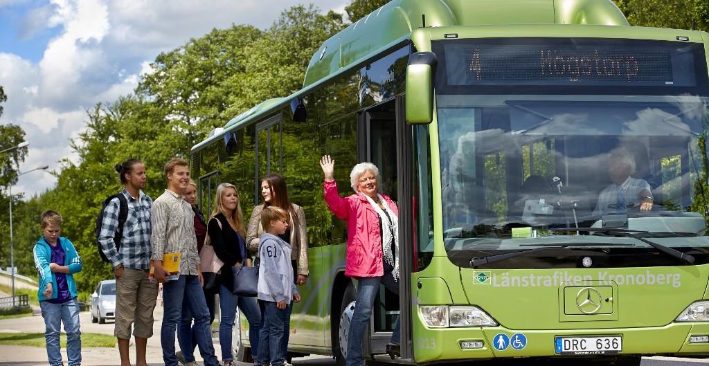 Transportul public va fi promovat in Växjö